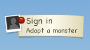 moshi monsters login step 1