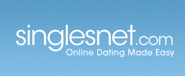 singlesnet logo and slogan