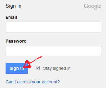 youtube sign in step 3