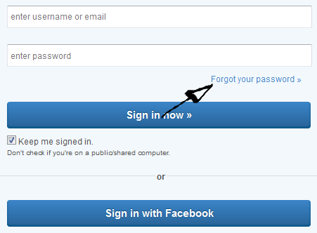 match.com password reset