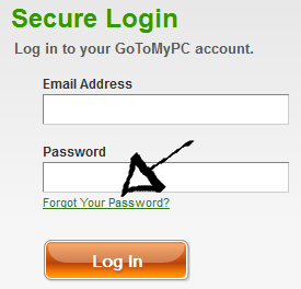 gotomypc password recovery