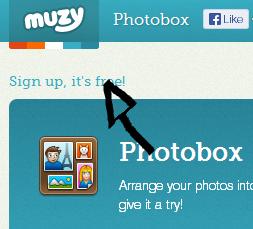 muzy sign up link