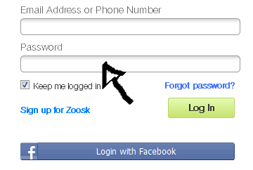 zoosk sign in step 2