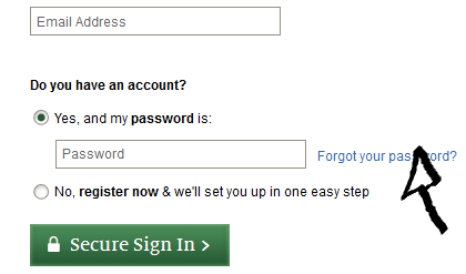barnes and noble password recovery