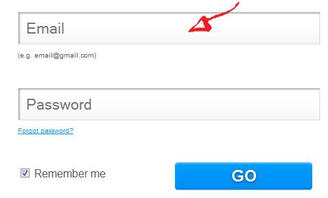 wix login step 2