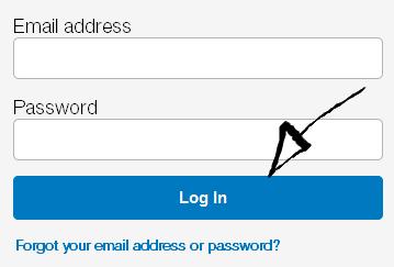 paypal login step 3