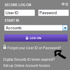 etrade recover user id password