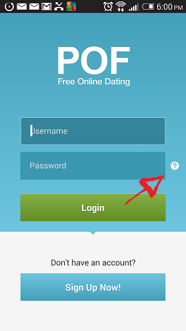 pof mobile password recovery