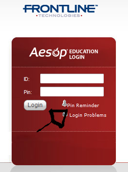 aesop password recovery