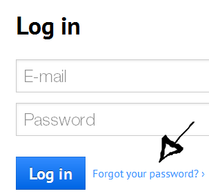 prezi password recovery