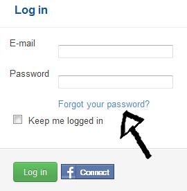 busuu password recovery