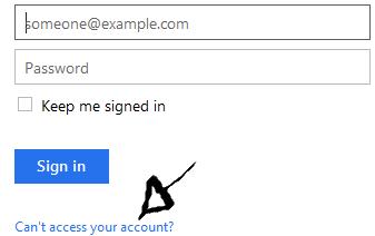 onenote password recovery