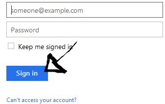 onenote sign in page step 3