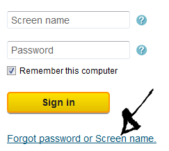pogo password screen name recovery