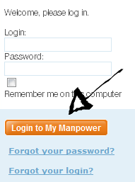 manpower sign in page step 3