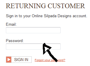 mysilpada sign in page step 2