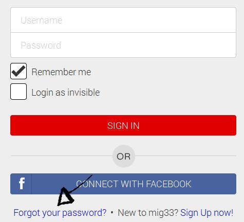 mig33 password recovery