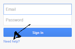 google adsense password username recovery