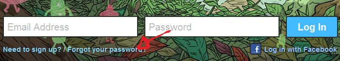 vimeo password recovery