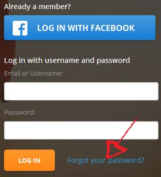 map my run password recovery