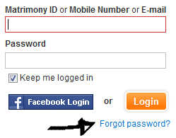tamil matrimony password recovery