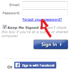 yahoo match password reset