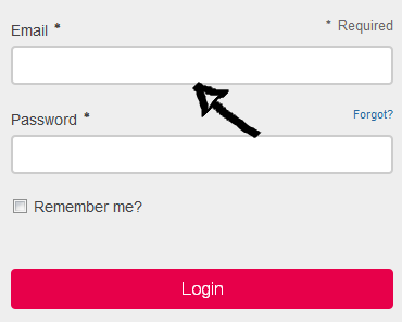 yola login step 1